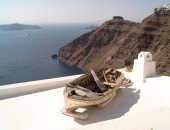 Santorini - rybárřská lod