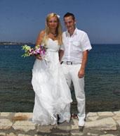 Novomanželé Denisa a Tomáš