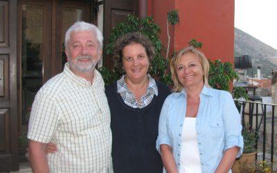 Karel a Zdeňka Ćwiertkovi – DOVOLENA 2014 ARCHANES