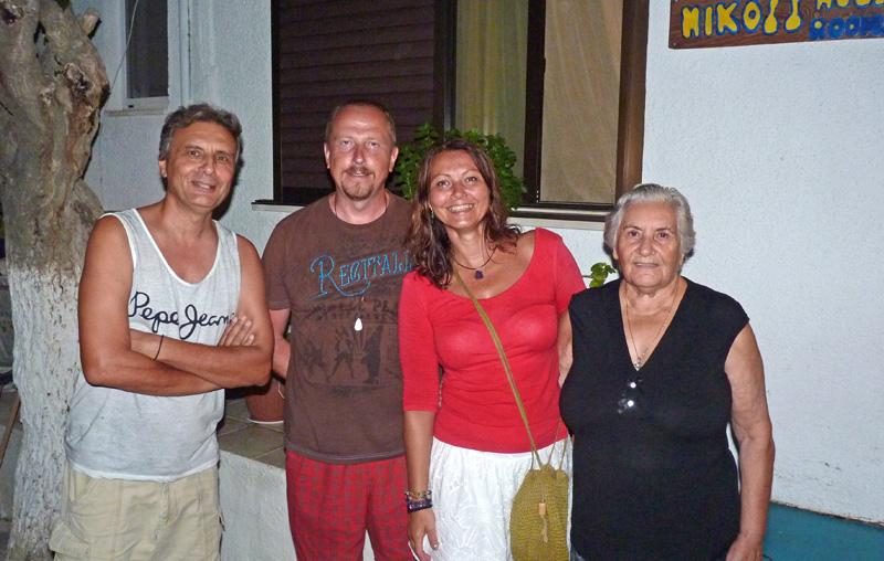 Zuzka Pažická a Palo Nitra Dovolená Mirtos 2014