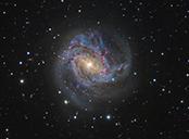Galaxie v Mirtosu GALAXIE M83-12